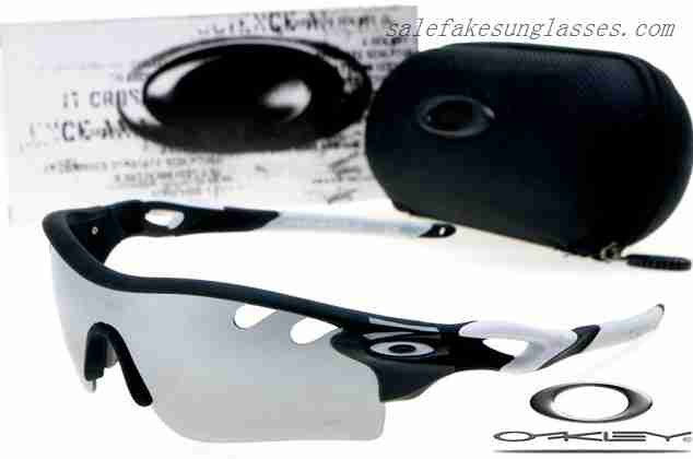 b6dfd012cb Cheap Imitation Oakley radarlock path sunglasses matte black   silver for  sale