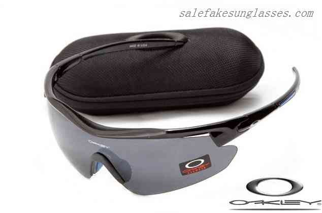 Cheap Knockoff Oakley m frame sunglasses polished black / black shop