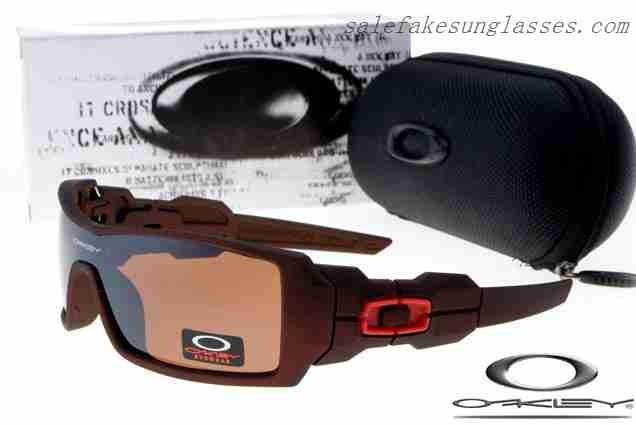 cheap fake oakley oil rig sunglasses matte brown persimmon uk rh buyfakeoakleys us