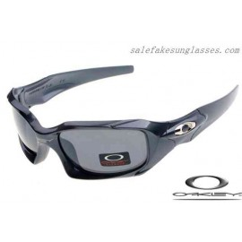 f240573d07 Cheap Fake Oakley pit boss sunglasses polished steel   grey for sale
