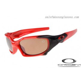 7375c51459 Cheap Imitation Oakley pit boss sunglasses polished red   VR28 free shipping